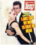 SUNDAY - UK 1 DAY ONLY MAGAZINE (AUGUST 1987)